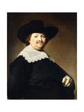 Portrait of a Gentleman Giclée-Druck von Johannes Cornelisz. Verspronck