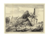 Ruined Building Giclee Print by Jacob Isaaksz Ruisdael