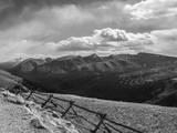 Rocky Mountains Range View from Trail Ridge Road, Rmnp, Colorado Fotografisk trykk av Anna Miller
