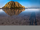 Morro Rock, Morro Bay, CAlifornia Photographic Print by Anna Miller