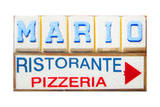Mario's Pizzeria Prints by  Tosh
