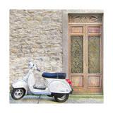 Vespa with Porte Vecchio Posters par  Tosh