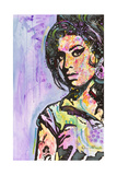 Amy Winehouse Giclée-tryk af Dean Russo