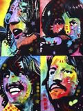 Beatles Reproduction procédé giclée par Dean Russo