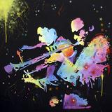 Miles Coltrane Giclee-trykk av Dean Russo