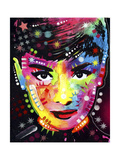 Audrey Giclee Print by Dean Russo