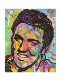 Elvis Giclee Print by Dean Russo