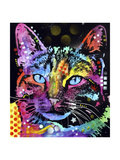 Thoughtful Cat Gicléetryck av Dean Russo