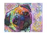 Pug Love Impressão giclée por Dean Russo