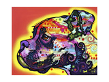 Profile Boxer Giclee Print by Dean Russo