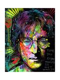 Lennon Front Giclee-trykk av Dean Russo