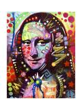 Mona Lisa Lámina giclée por Dean Russo