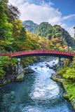 Sacred Bridge of Nikko, Japan. Photographic Print by  SeanPavonePhoto