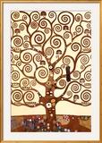 ストックレー・フリーズ=生命の樹 1905-09年 アートポスター : グスタフ・クリムト