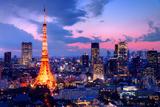 Tokyo Tower Photographic Print by  SeanPavonePhoto