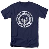 Battlestar Galactica - Pegasus Badge T-Shirt