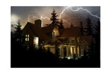 Lightning Home Protection Affiches par  duallogic