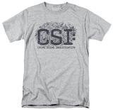 CSI - Distressed Logo T-shirts
