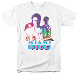 Miami Vice - Crockett And Tubbs T-shirts
