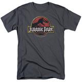Jurassic Park - Stone Logo T-Shirt