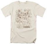 Grimm - Wesen Sketches Shirts