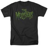 The Munsters - Distress Logo Shirt