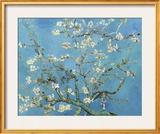花咲くアーモンドの枝(1890年) 高画質プリント : フィンセント・ファン・ゴッホ