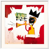 Trumpet, 1984 Framed Giclee Print by Jean-Michel Basquiat