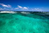 Caribbean Sea and Perfect Sky Fotografisk trykk av Vitaliy Pakhnyushchyy