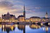 Zurich. Fotografisk trykk av  rudi1976