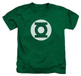 Juvenile: Green Lantern - Green Lantern Logo T-shirts