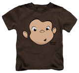 Juvenile: Curious George - George Face T-shirt