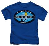 Juvenile: Survivor - Blue Burst T-Shirt