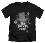 Juvenile: The Twilight Zone - Monologue T-shirts