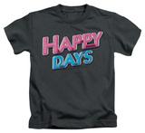 Juvenile: Happy Days - Happy Days Logo Shirts