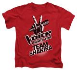 Juvenile: The Voice - Team Shakira T-Shirt