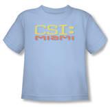 Toddler: CSI Miami - Logo Distressed T-Shirt