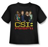 Toddler: CSI Miami - The Cast In Black Shirt