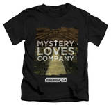 Juvenile: Warehouse 13 - Mystery Loves Shirt