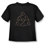 Toddler: Charmed - Triple Linked Logo T-shirts