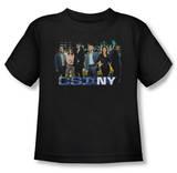 Toddler: CSI NY - Cast T-shirts