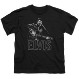 Youth: Elvis Presley - Guitar In Hand Shirts