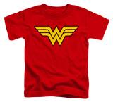 Toddler: Wonder Woman - Wonder Woman Logo T-shirts