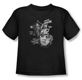 Toddler: The Twilight Zone - Someone On The Wing T-shirts