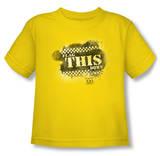 Toddler: Taxi - Flag This T-Shirt