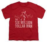 Youth: The Six Million Dollar Man - Target T-Shirt