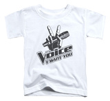Toddler: The Voice - One Color Logo T-Shirt