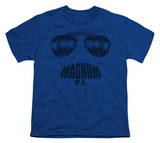 Youth: Magnum P.I. - Face It T-shirts