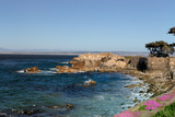 Lover's Point at Pacific Grove, California. Reproduction photographique par  Wolterk
