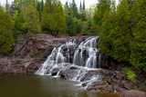 Upper Falls of Gooseberry Falls Reproduction photographique par  Wolterk